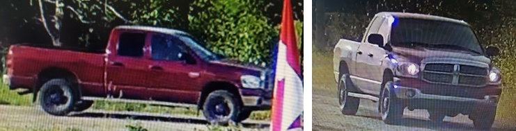 Pictures of suspect vehicle.